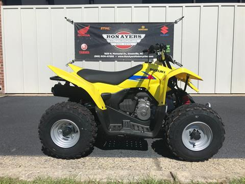 2019 Suzuki QuadSport Z90 in Greenville, North Carolina