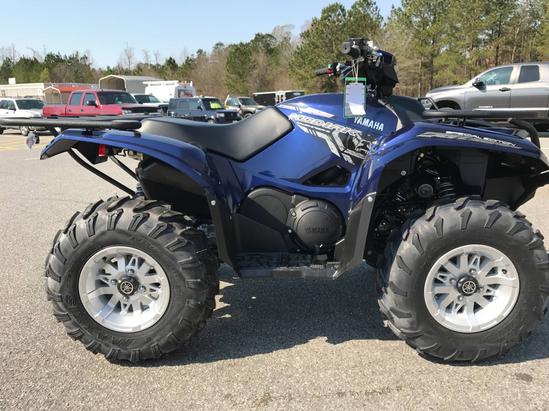 2017 Yamaha Kodiak 700 EPS SE in Greenville, North Carolina