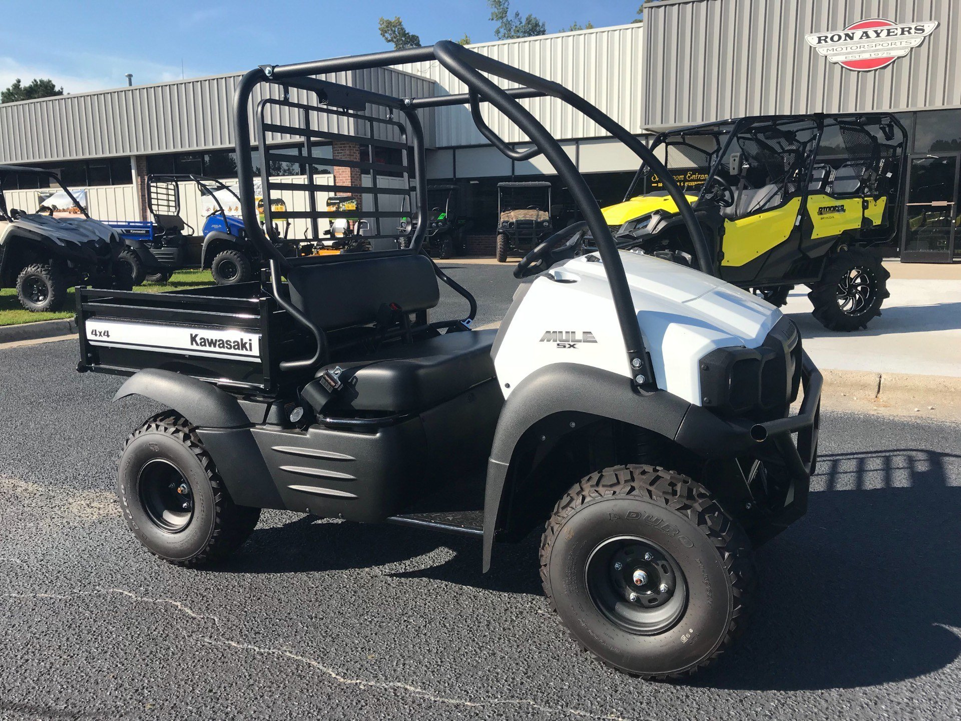 2019 Kawasaki Mule SX 4X4 SE in Greenville, North Carolina - Photo 2