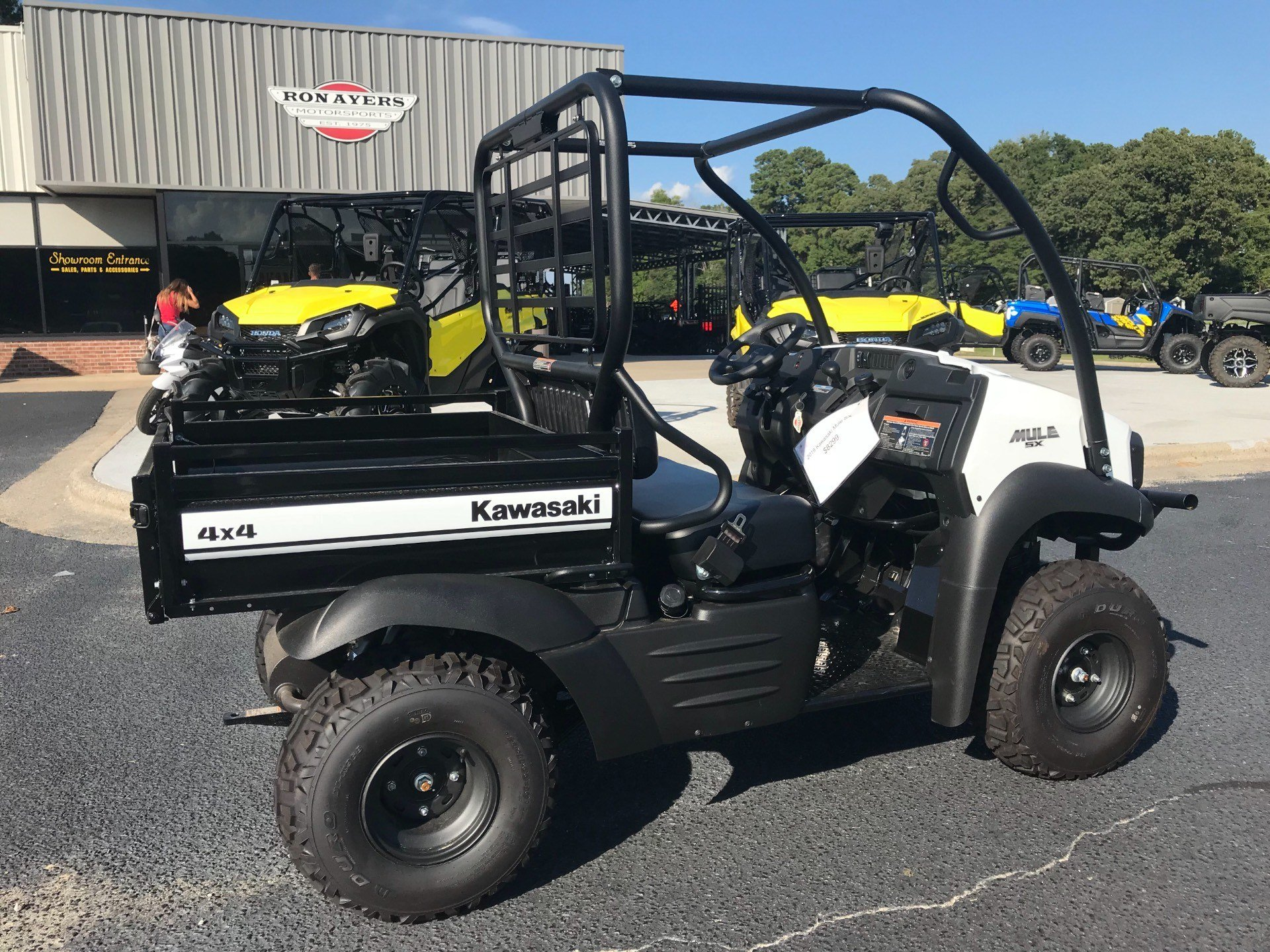 2019 Kawasaki Mule SX 4X4 SE in Greenville, North Carolina - Photo 12