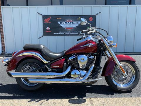 2009 Kawasaki Vulcan® 900 Classic in Greenville, North Carolina