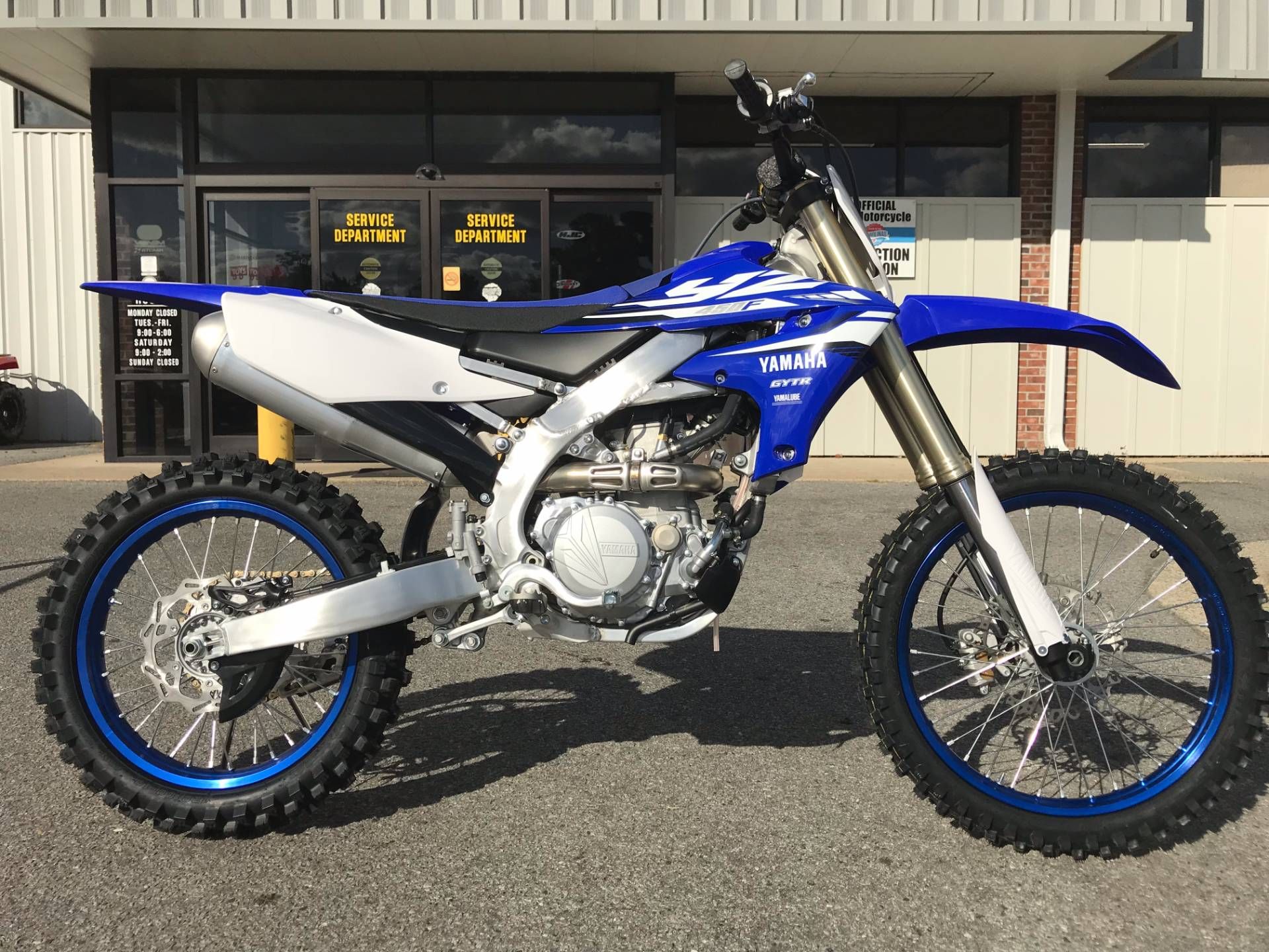 New 2018 yamaha yz450f motorcycles in greenville nc for New yamaha 450
