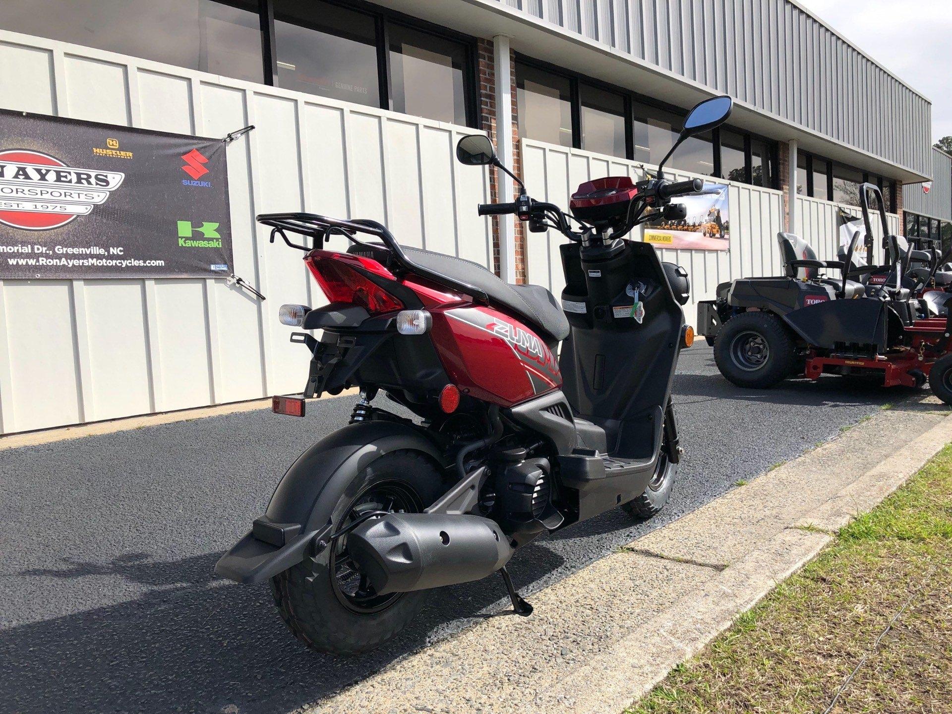 2019 Yamaha Zuma 50F in Greenville, North Carolina