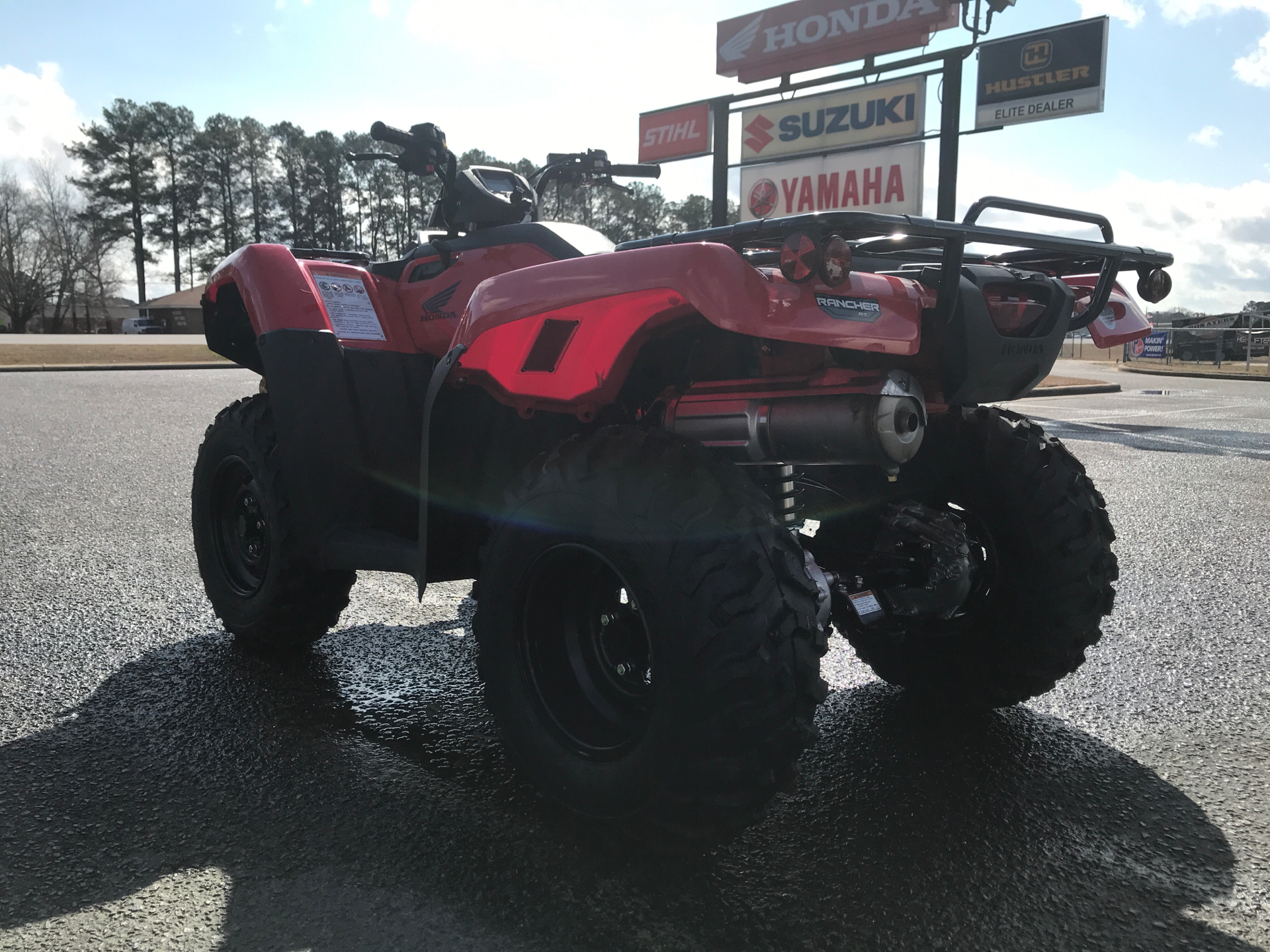 2021 Honda FourTrax Rancher 4x4 Automatic DCT EPS in Greenville, North Carolina - Photo 6