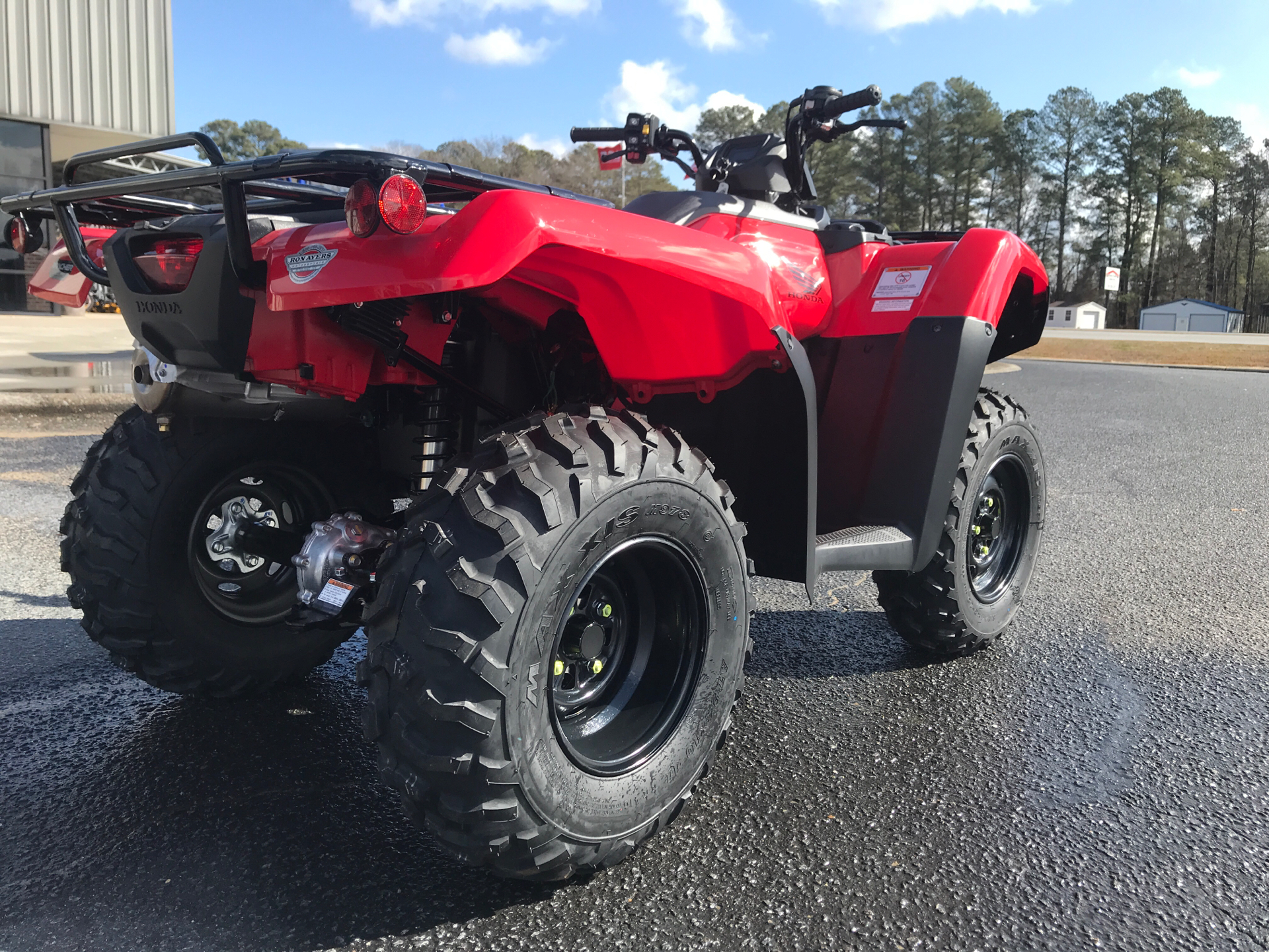 2021 Honda FourTrax Rancher 4x4 Automatic DCT EPS in Greenville, North Carolina - Photo 8