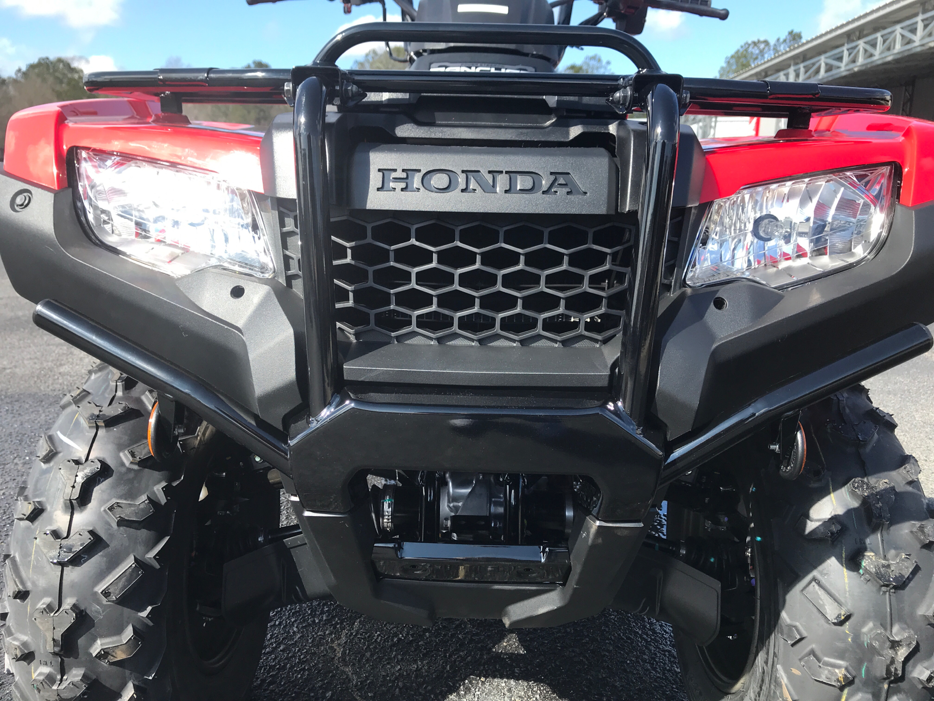 2021 Honda FourTrax Rancher 4x4 Automatic DCT EPS in Greenville, North Carolina - Photo 9
