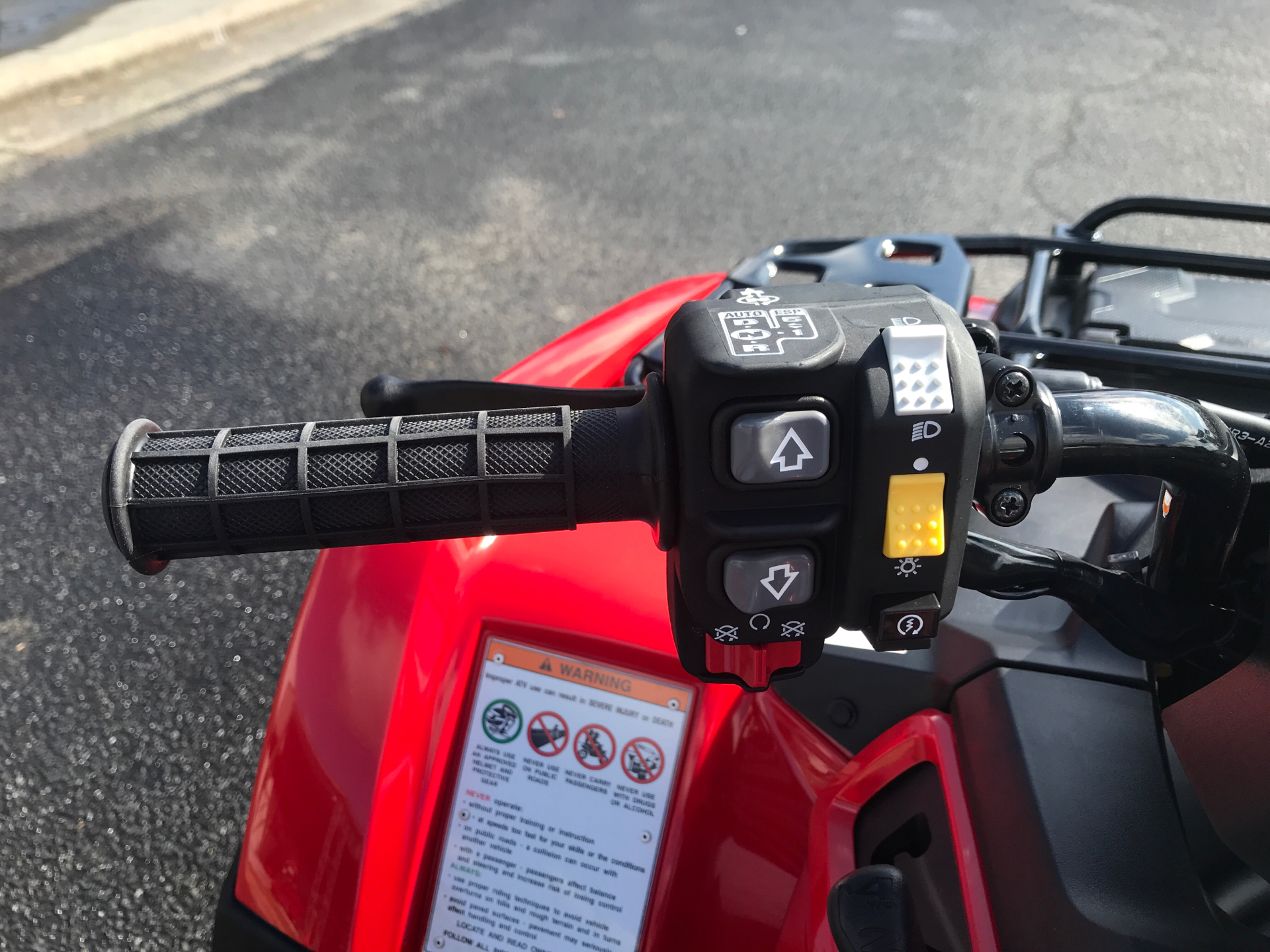 2021 Honda FourTrax Rancher 4x4 Automatic DCT EPS in Greenville, North Carolina - Photo 15