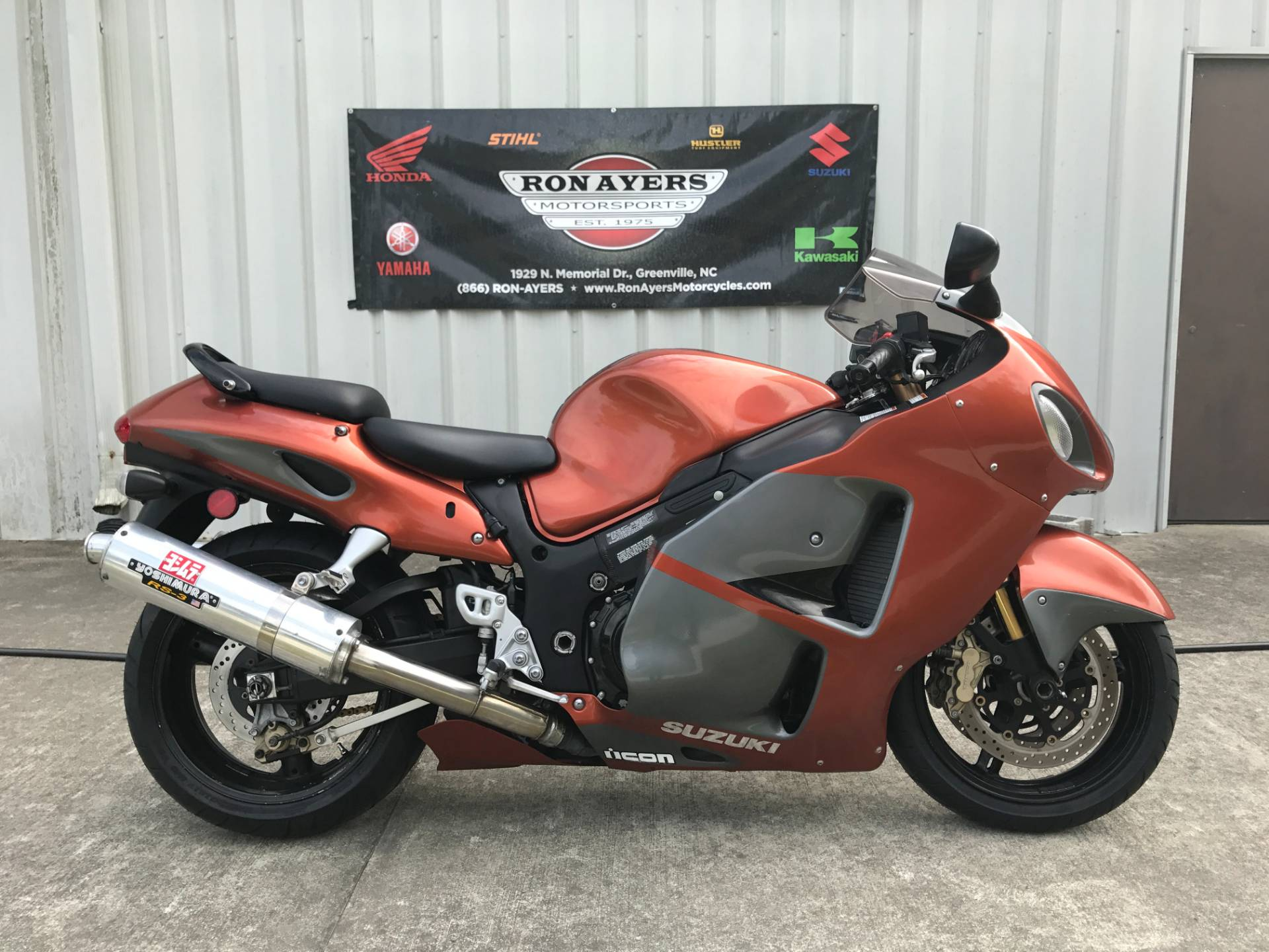 2007 Suzuki Hayabusa™ 1300 in Greenville, North Carolina