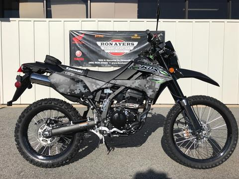 2018 Kawasaki KLX 250 Camo in Greenville, North Carolina