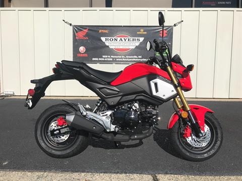 2019 Honda Grom in Greenville, North Carolina - Photo 1