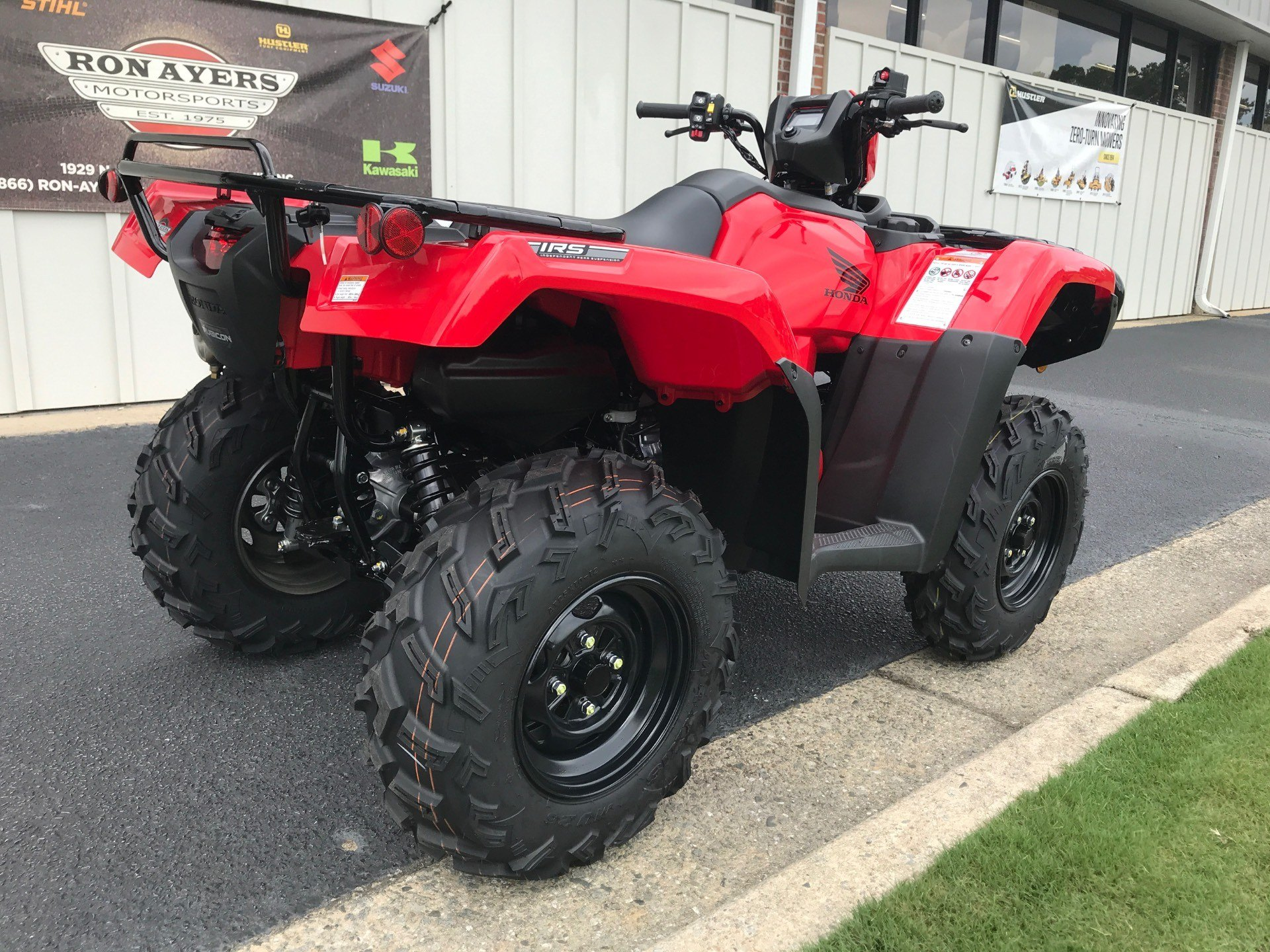 2021 Honda FourTrax Foreman Rubicon 4x4 Automatic DCT in Greenville, North Carolina - Photo 8
