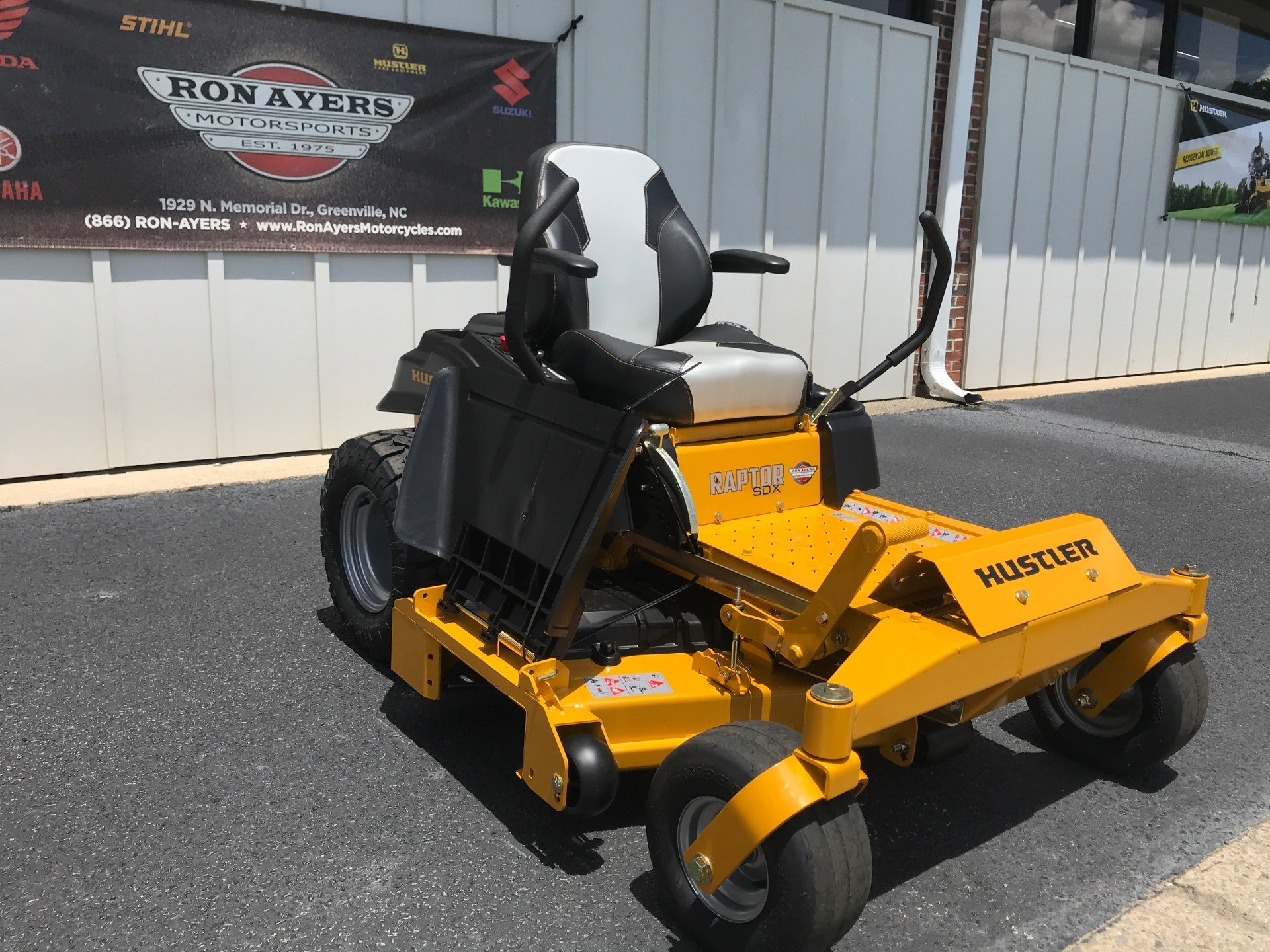 2020 Hustler Turf Equipment Raptor SDX 54 in. Kawasaki 23 hp in Greenville, North Carolina - Photo 6