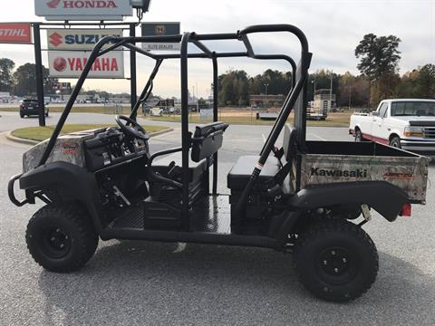2018 Kawasaki Mule 4010 Trans4x4 Camo in Greenville, North Carolina