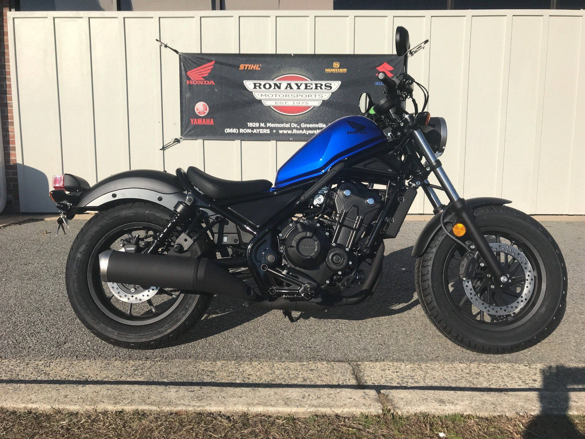 2018 Honda Rebel 500 in Greenville, North Carolina