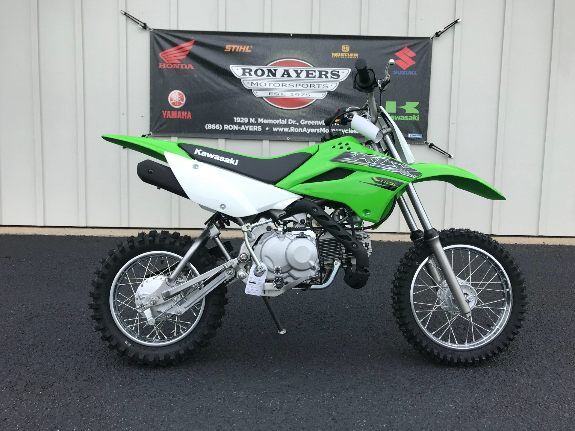 2019 Kawasaki KLX 110L in Greenville, North Carolina - Photo 1