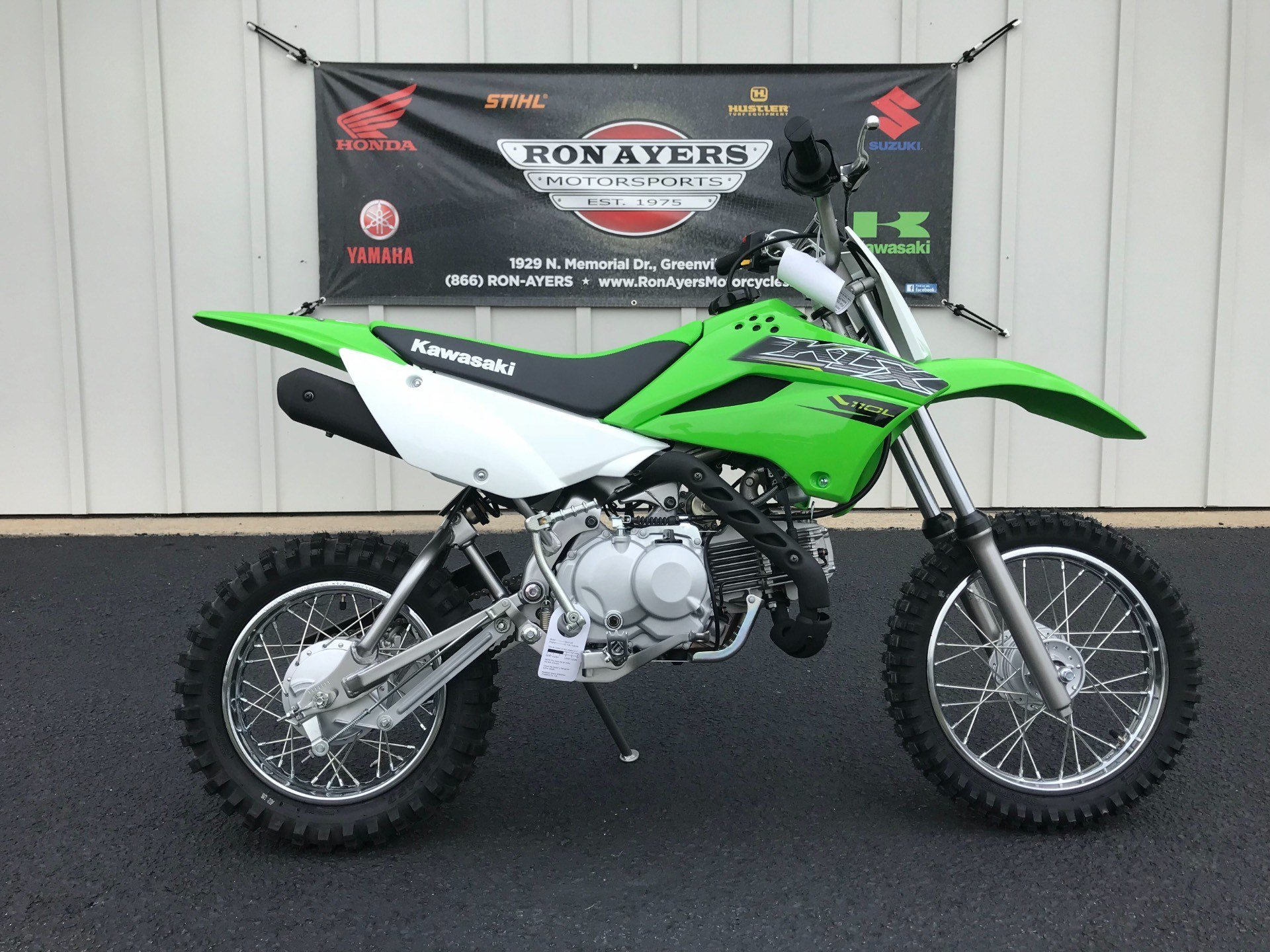 2019 Kawasaki KLX 110L in Greenville, North Carolina - Photo 19