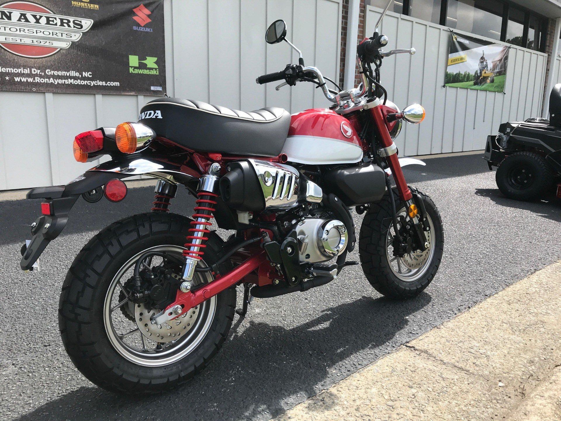 New 2021 Honda Monkey Motorcycles in Greenville, NC ...