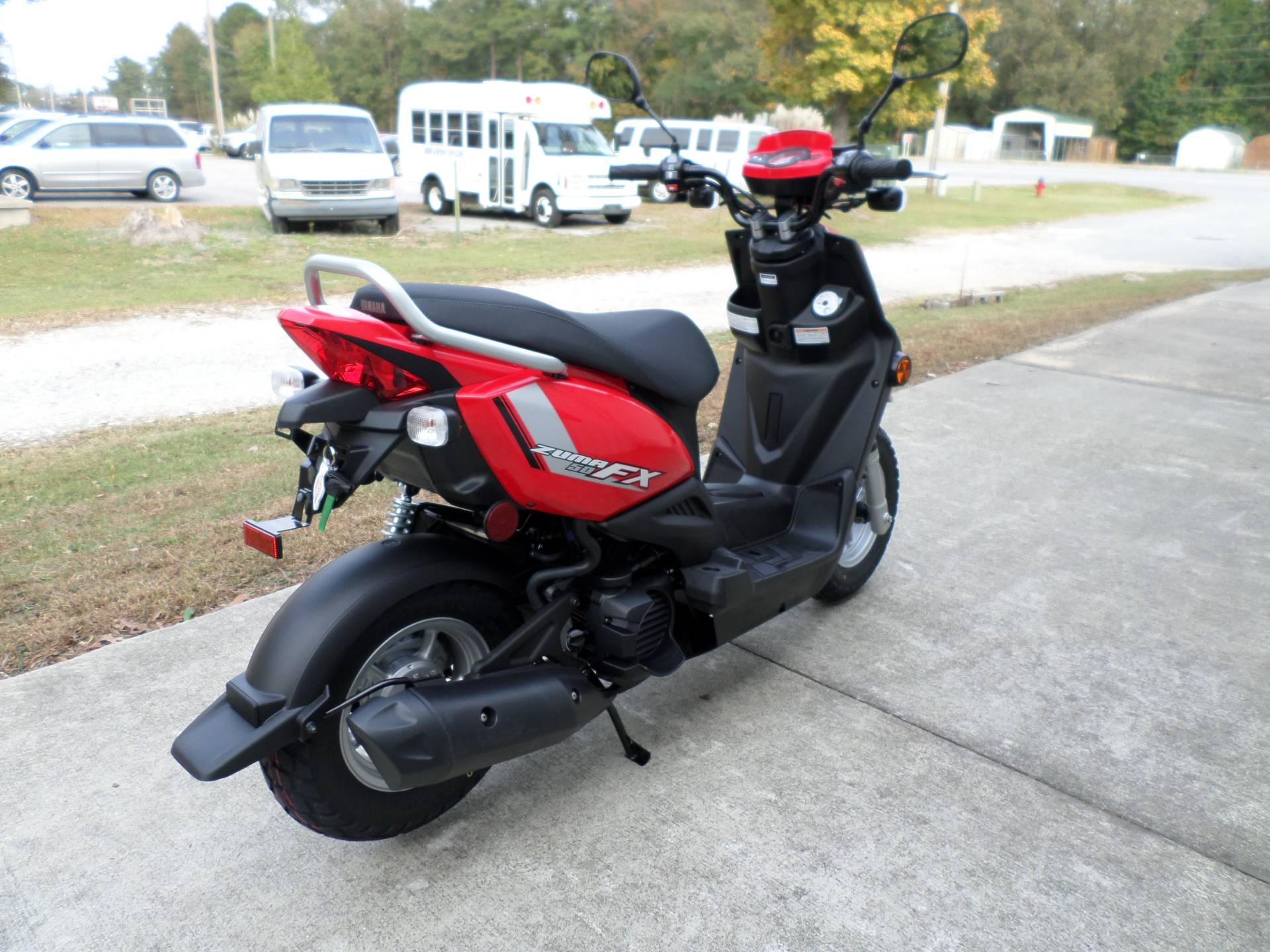 2017 Yamaha Zuma 50FX in Greenville, North Carolina