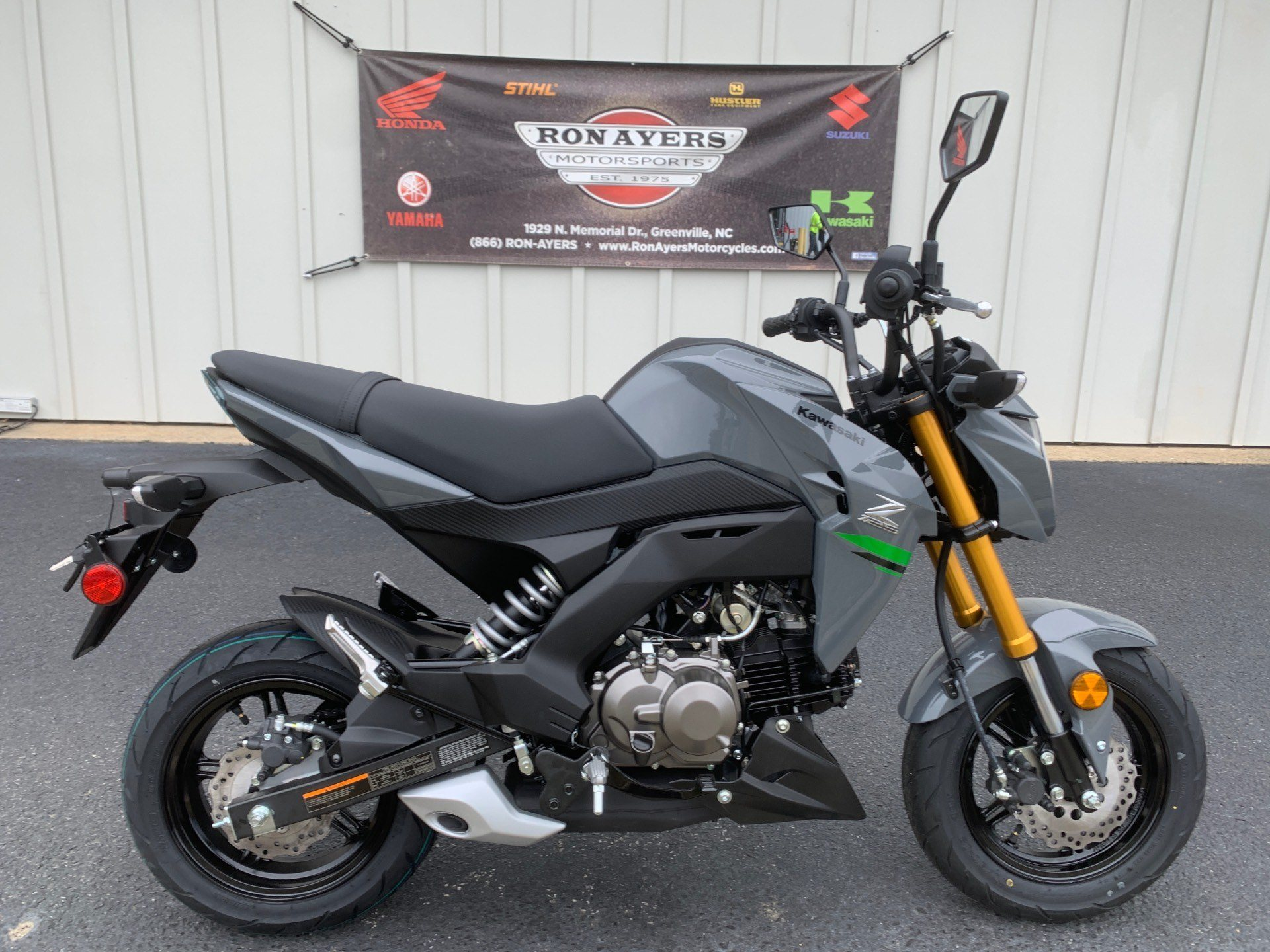2020 Kawasaki Z125 Pro in Greenville, North Carolina - Photo 1