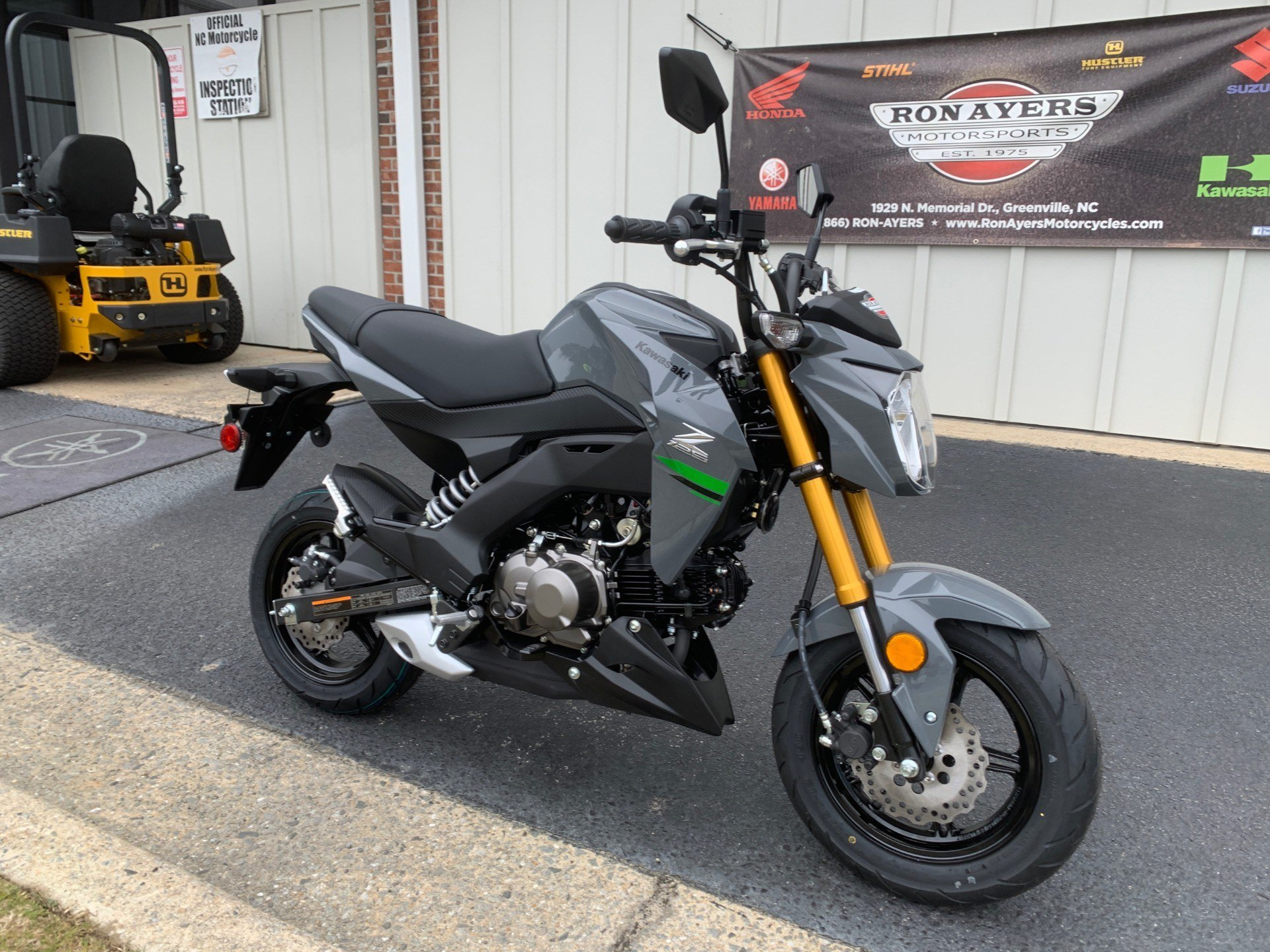 2020 Kawasaki Z125 Pro in Greenville, North Carolina - Photo 2