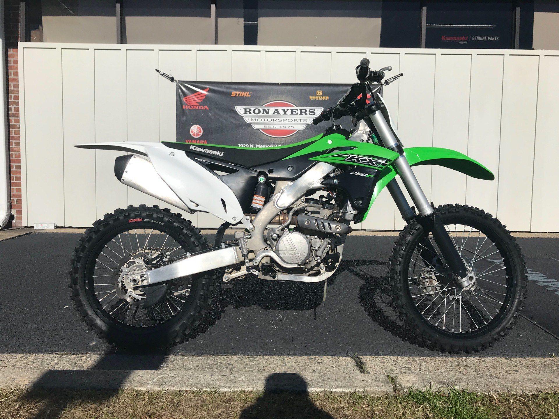 2015 Kawasaki KX™250F in Greenville, North Carolina