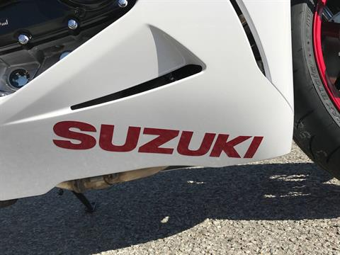 2017 Suzuki GSX-R750 in Greenville, North Carolina