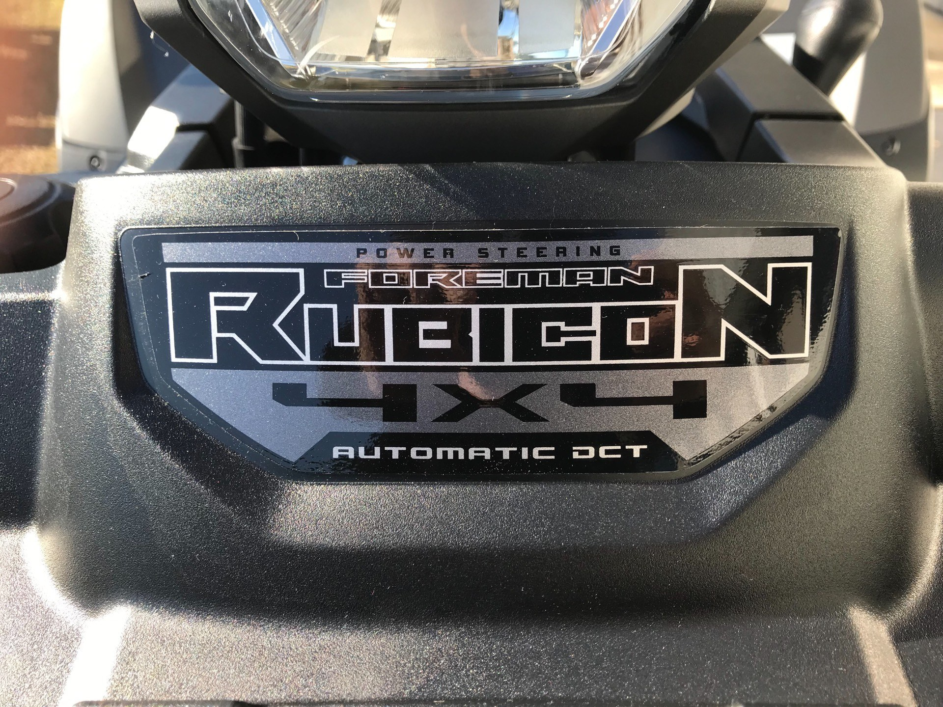 2019 Honda FourTrax Foreman Rubicon 4x4 Automatic DCT EPS Deluxe in Greenville, North Carolina