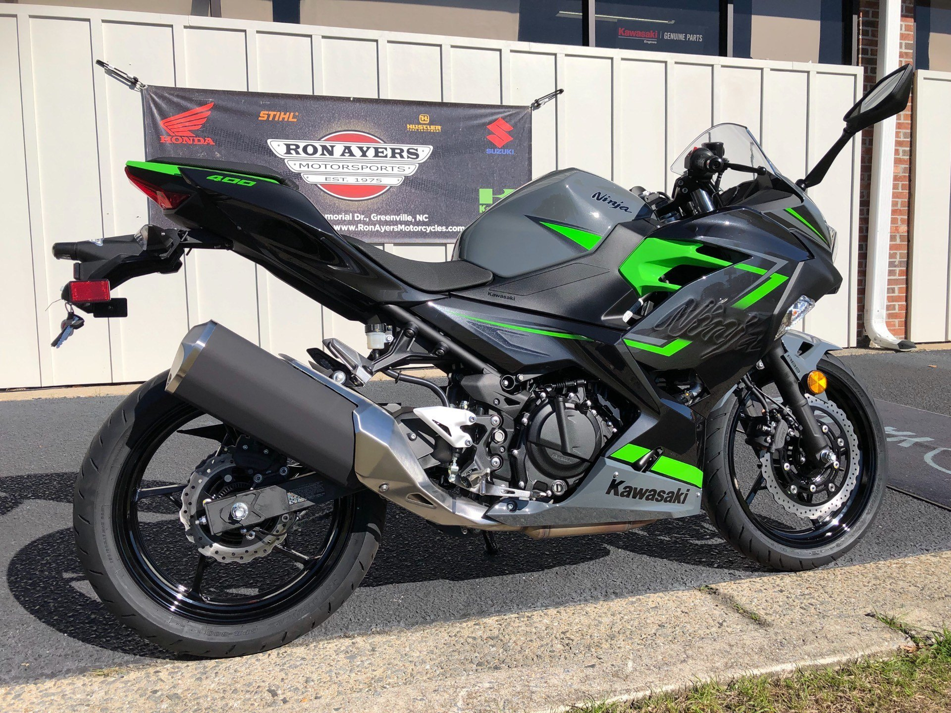 2019 Kawasaki Ninja 400 ABS in Greenville, North Carolina - Photo 11
