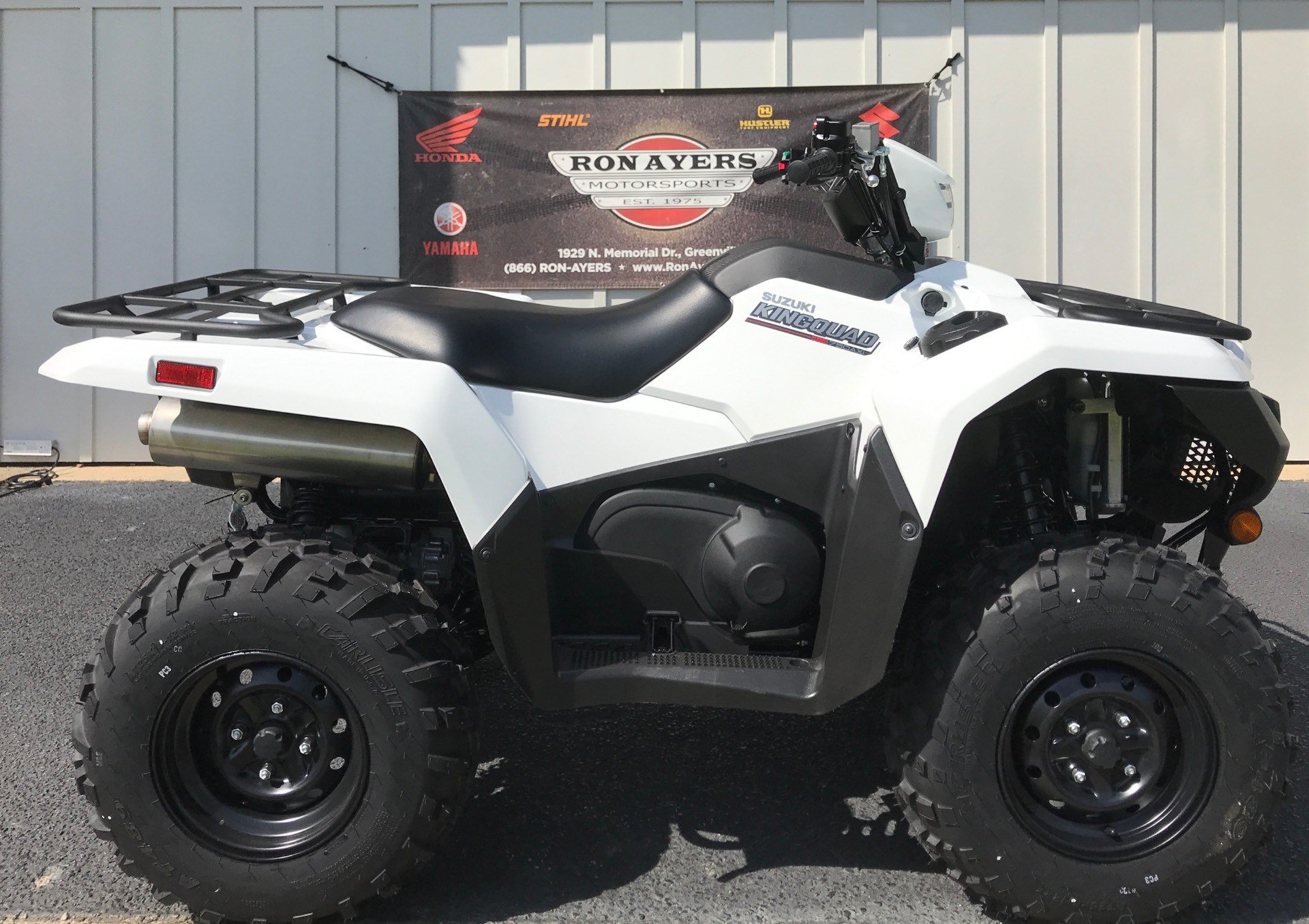 2020 Suzuki KingQuad 750AXi Power Steering in Greenville, North Carolina - Photo 1