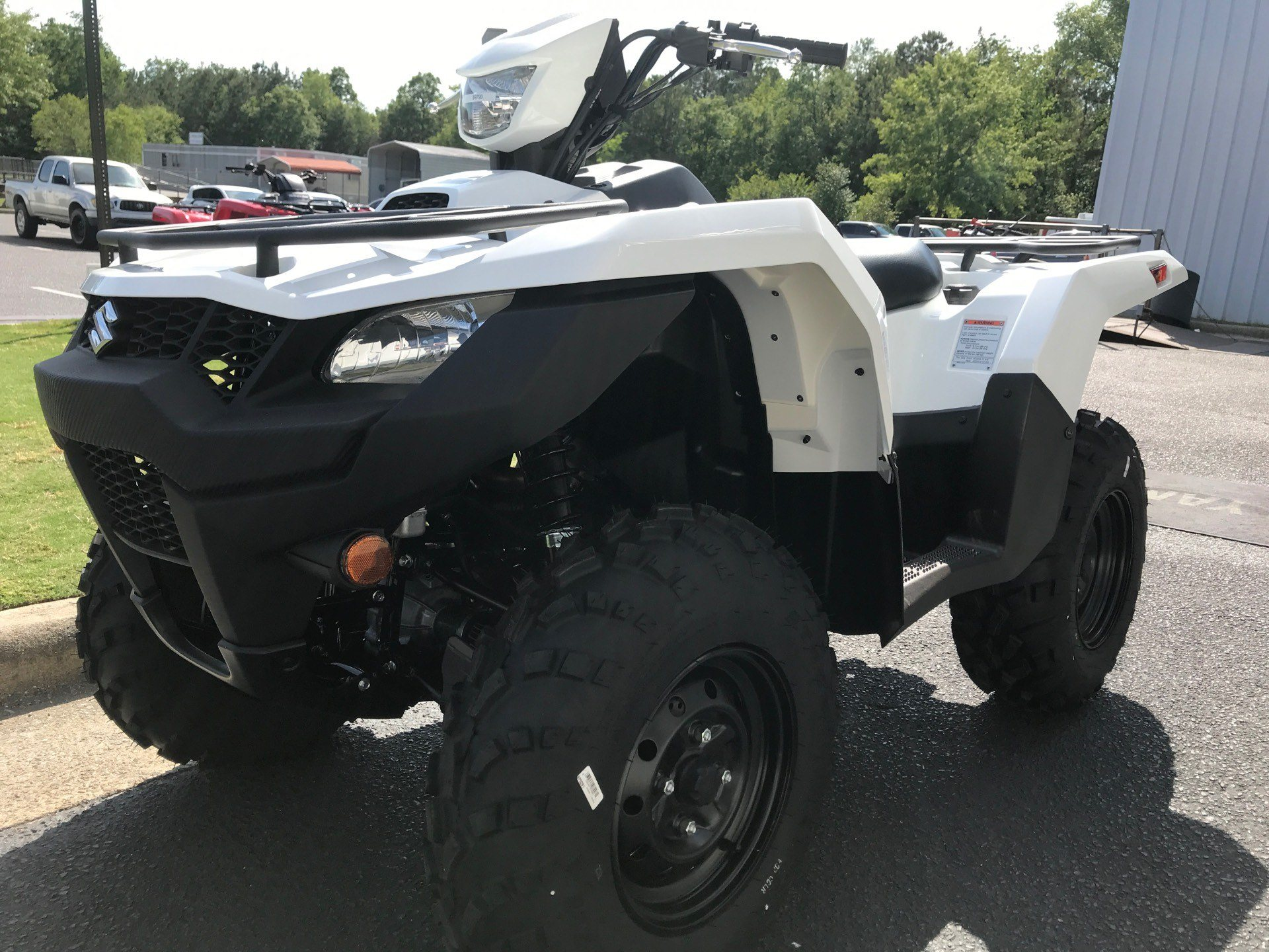 2020 Suzuki KingQuad 750AXi Power Steering in Greenville, North Carolina - Photo 4
