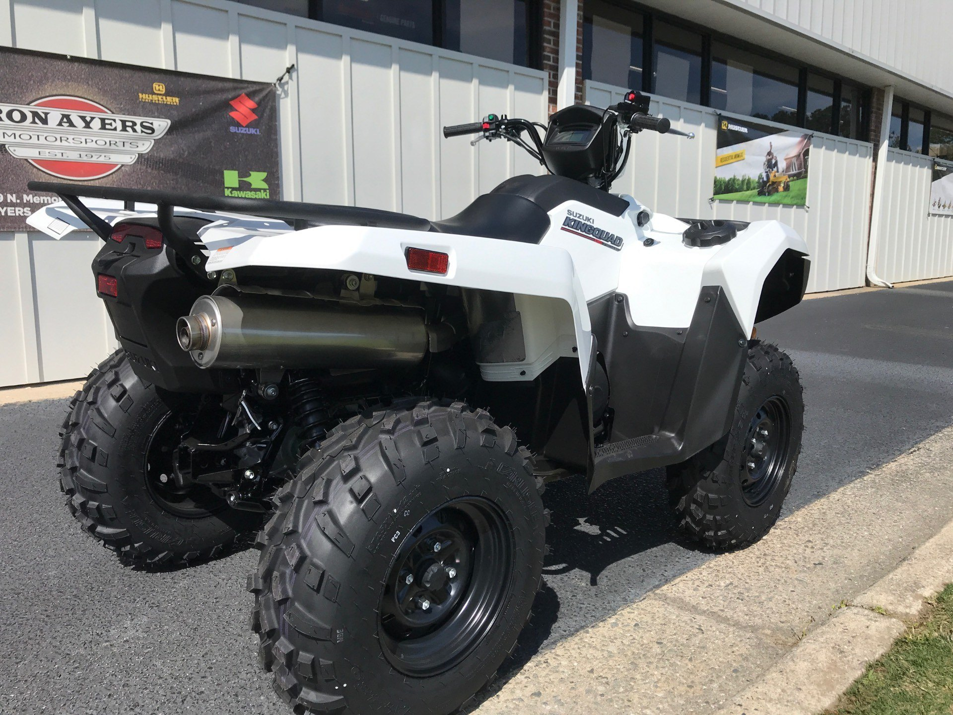 2020 Suzuki KingQuad 750AXi Power Steering in Greenville, North Carolina - Photo 8