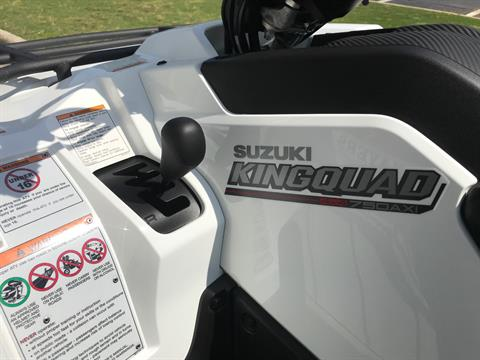 2020 Suzuki KingQuad 750AXi Power Steering in Greenville, North Carolina - Photo 12