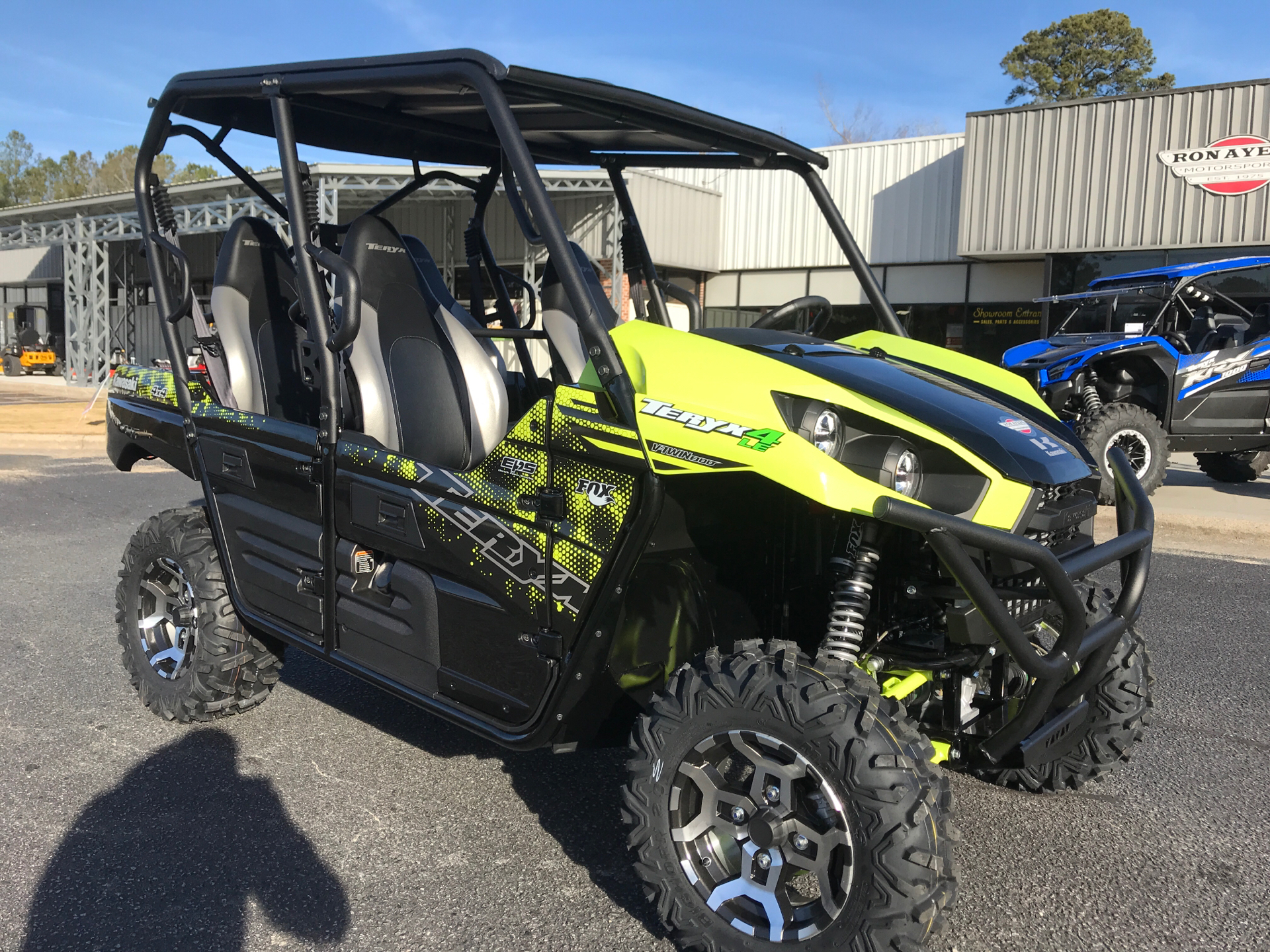 2021 Kawasaki Teryx4 LE in Greenville, North Carolina - Photo 2