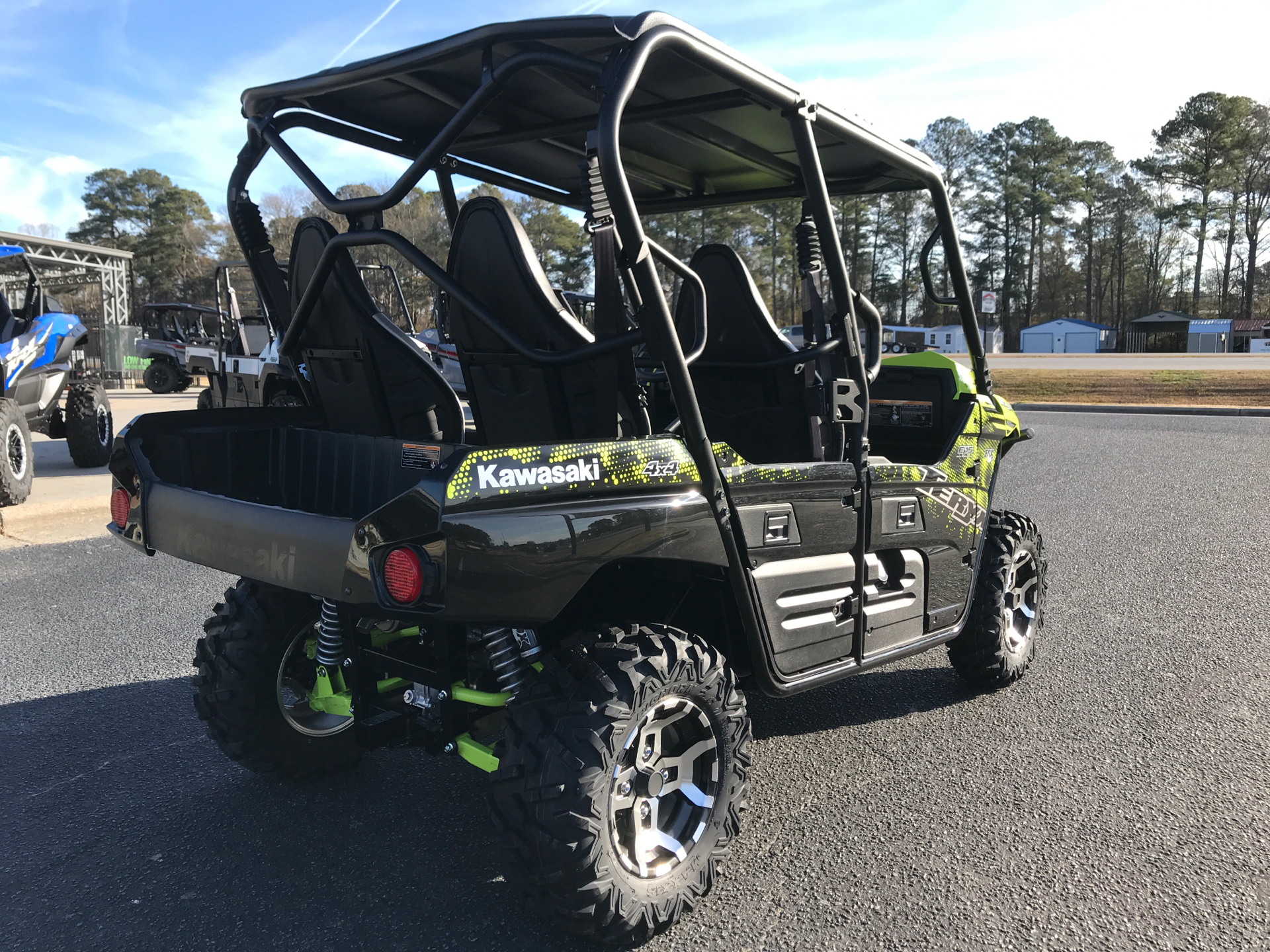 2021 Kawasaki Teryx4 LE in Greenville, North Carolina - Photo 8