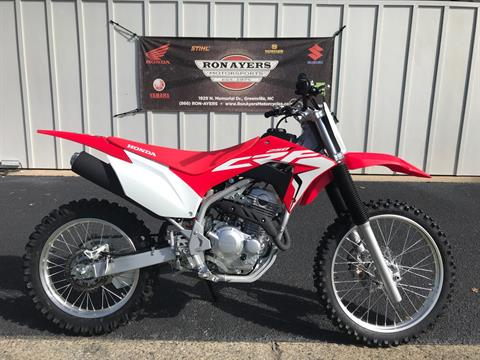 2021 Honda CRF250F in Greenville, North Carolina