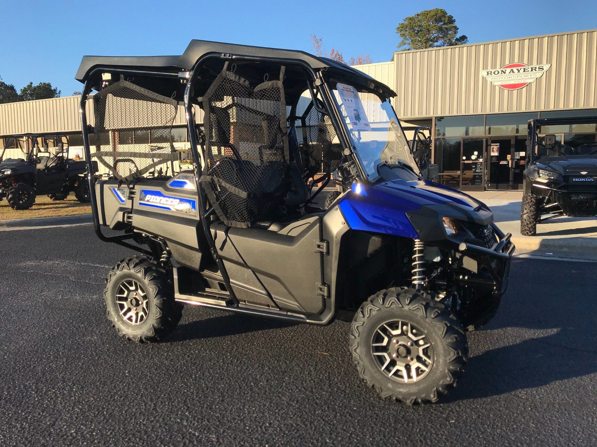 2019 Honda Pioneer 700-4 Deluxe in Greenville, North Carolina - Photo 2