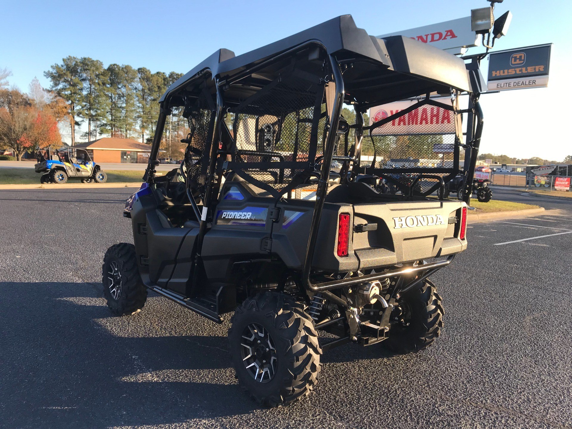 2019 Honda Pioneer 700-4 Deluxe in Greenville, North Carolina - Photo 8