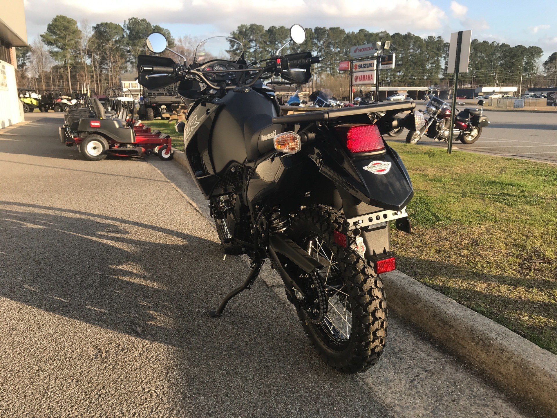 2018 Kawasaki KLR650 in Greenville, North Carolina