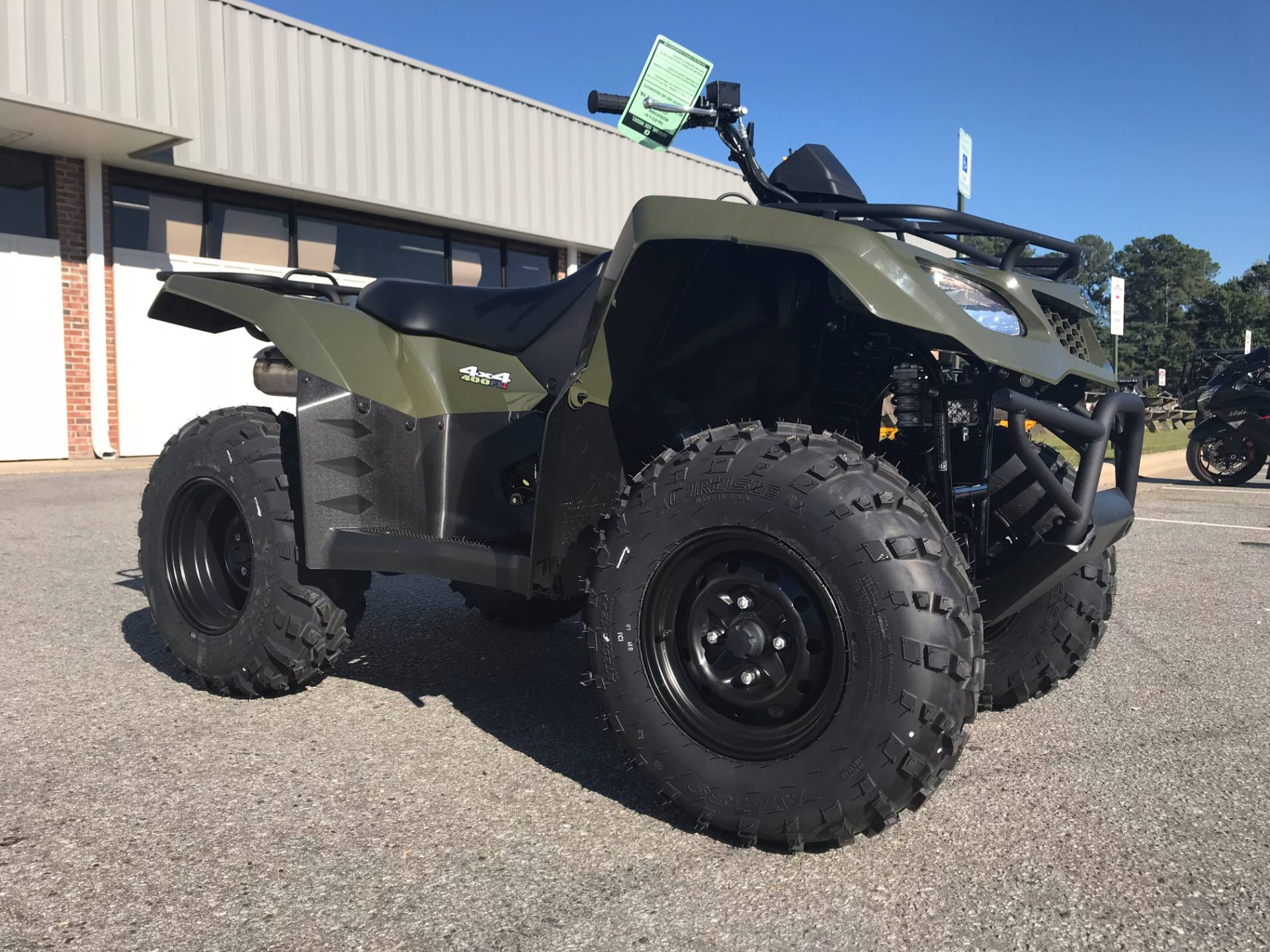 2018 Suzuki KingQuad 400FSi in Greenville, North Carolina - Photo 2