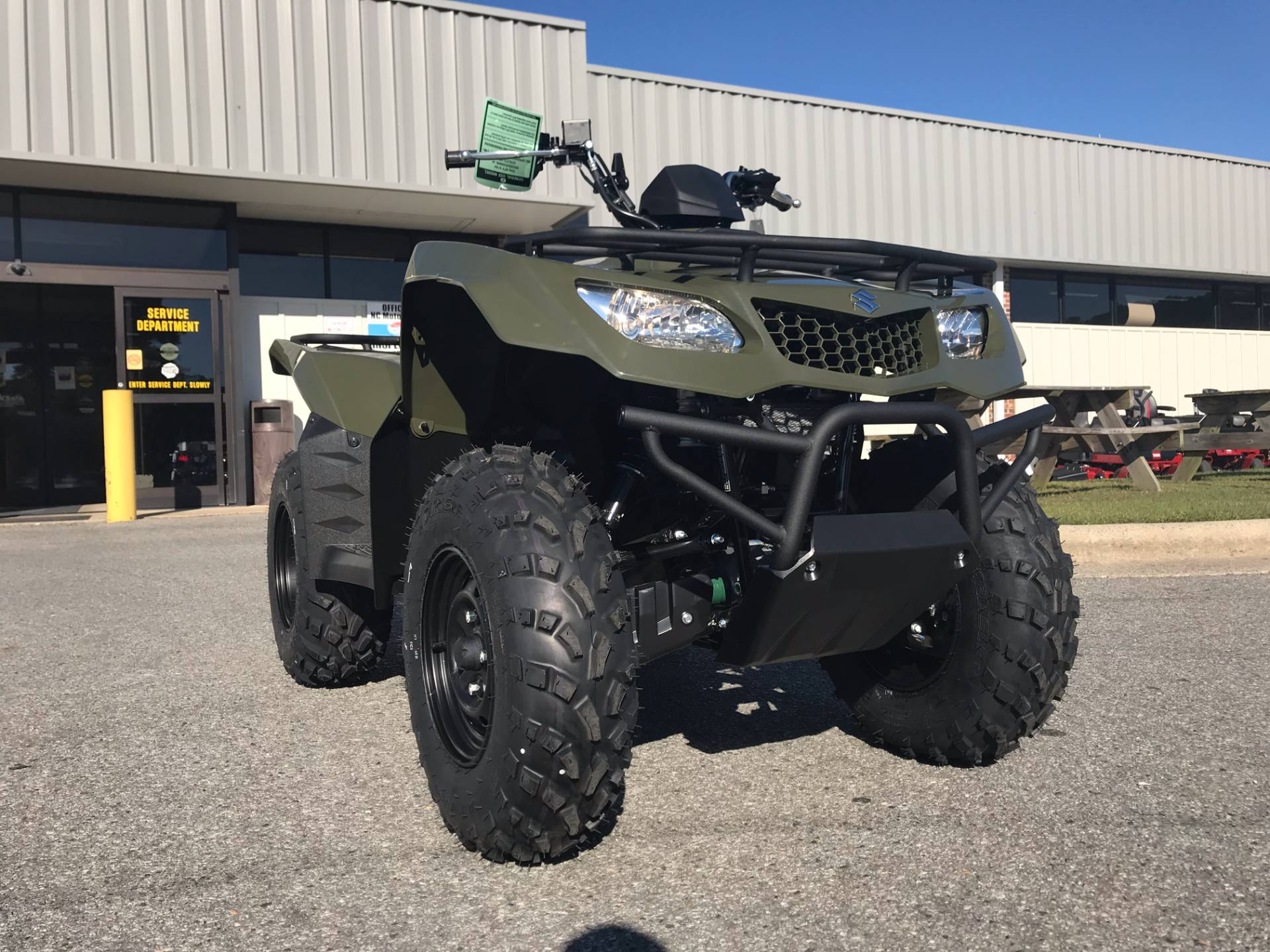 2018 Suzuki KingQuad 400FSi in Greenville, North Carolina - Photo 3