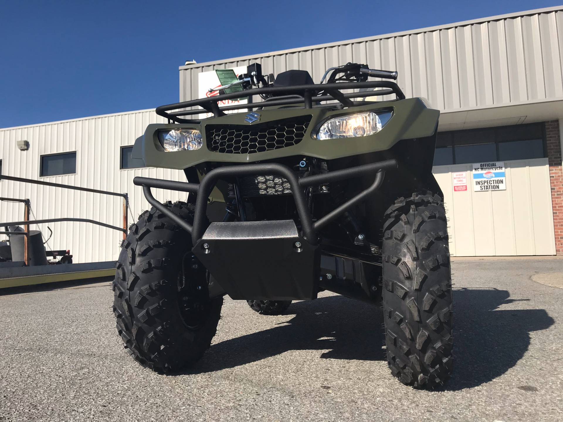 2018 Suzuki KingQuad 400FSi in Greenville, North Carolina - Photo 4
