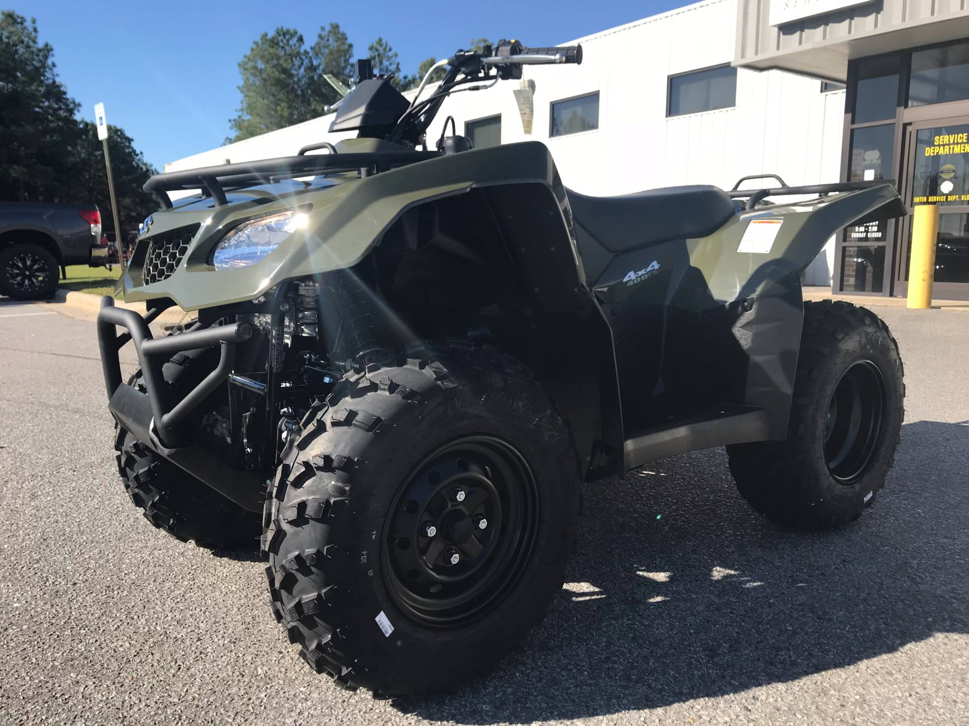 2018 Suzuki KingQuad 400FSi in Greenville, North Carolina - Photo 5