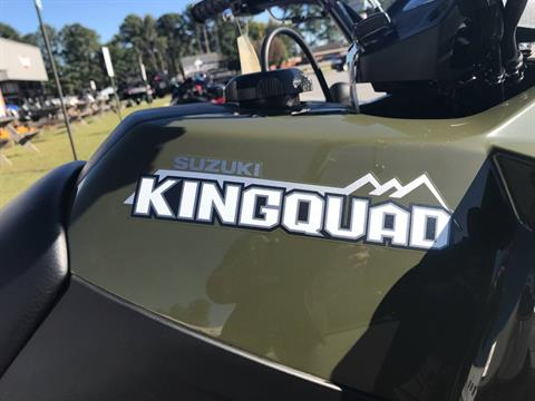 2018 Suzuki KingQuad 400FSi in Greenville, North Carolina - Photo 13