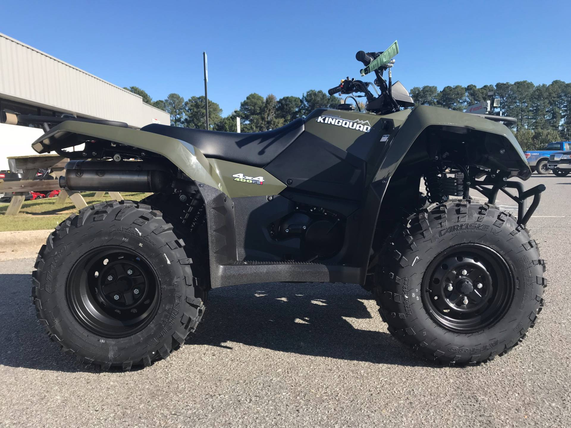 2018 Suzuki KingQuad 400FSi in Greenville, North Carolina - Photo 20