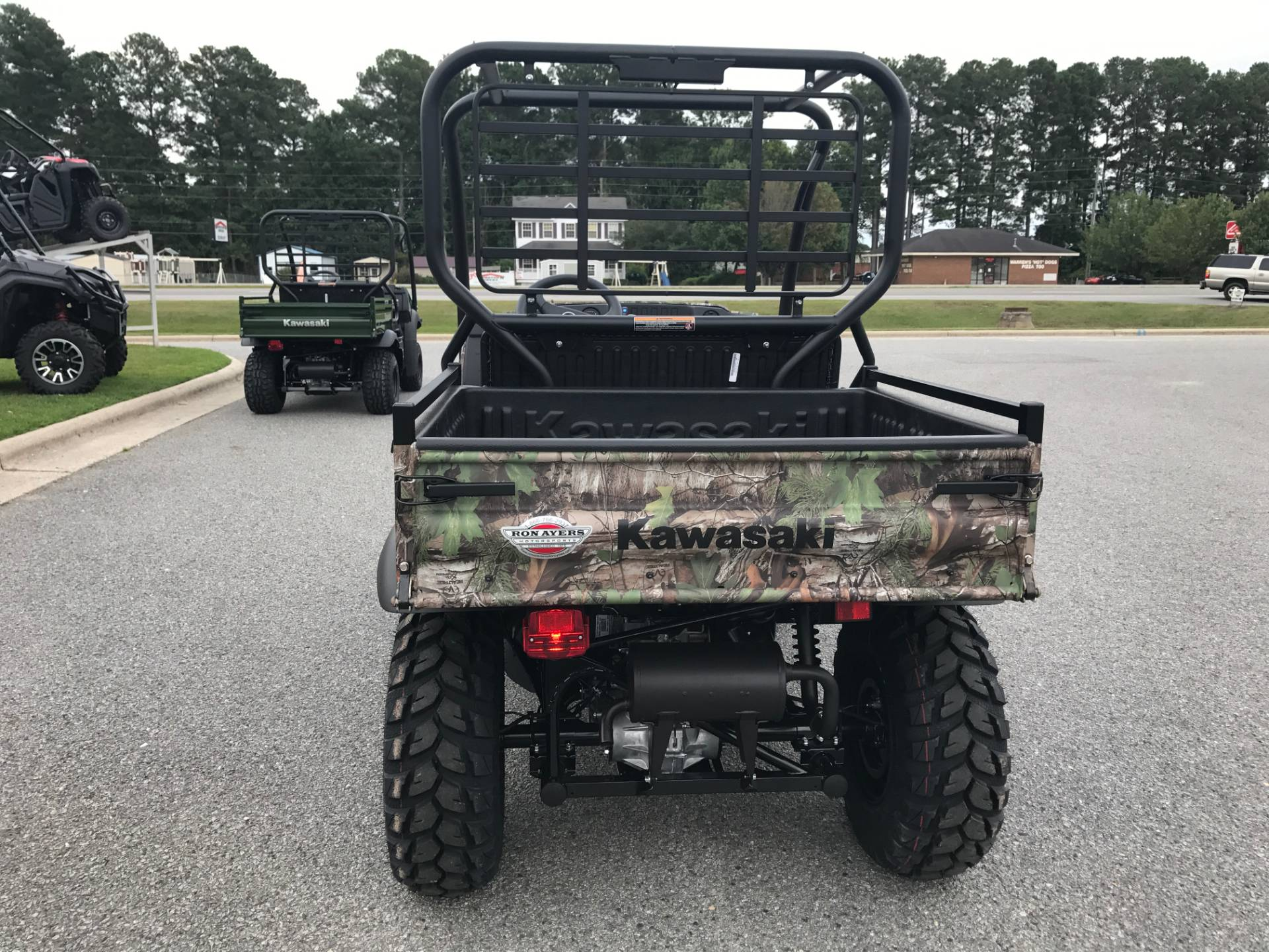 2019 Kawasaki Mule SX 4X4 XC Camo in Greenville, North Carolina - Photo 11