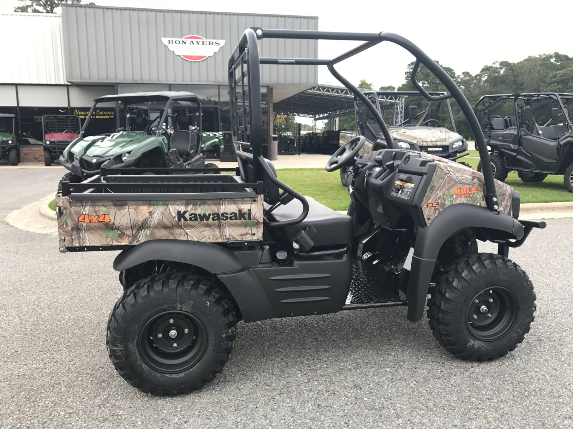 2019 Kawasaki Mule SX 4X4 XC Camo in Greenville, North Carolina - Photo 14