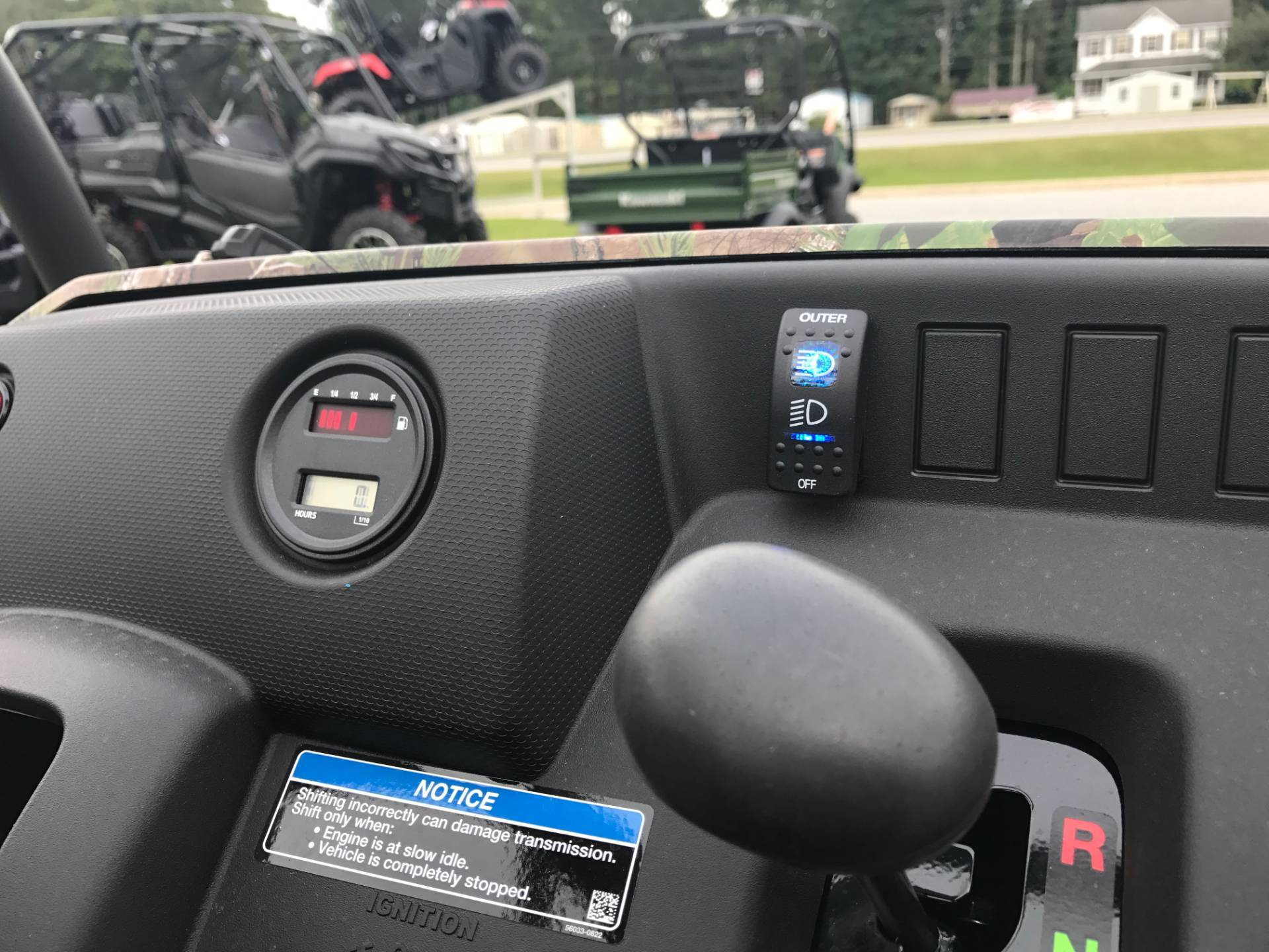 2019 Kawasaki Mule SX 4X4 XC Camo in Greenville, North Carolina - Photo 22