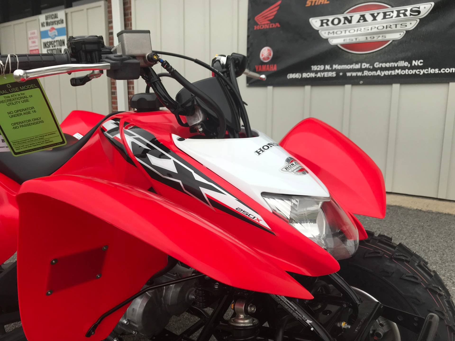 2019 Honda TRX250X in Greenville, North Carolina - Photo 13