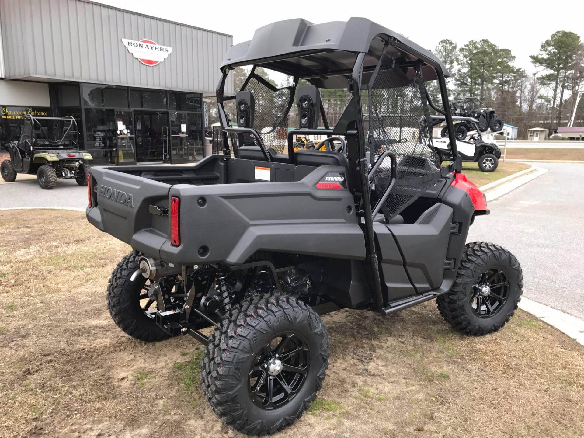 headquarters honda dfk cab sdetail utv pioneer inc enclosure deluxe by