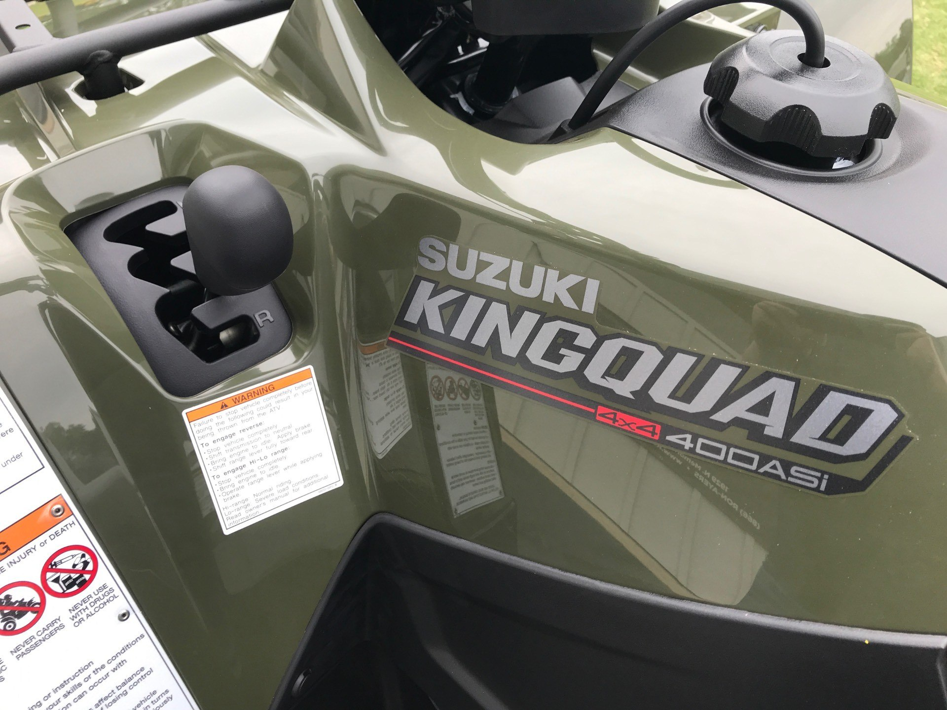 2020 Suzuki KingQuad 400ASi in Greenville, North Carolina - Photo 15